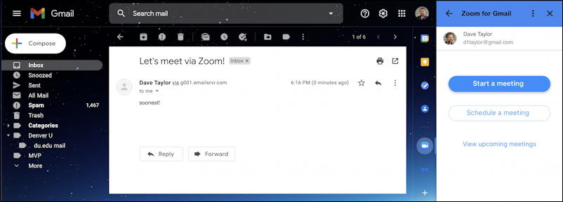zoom for gmail - full window open