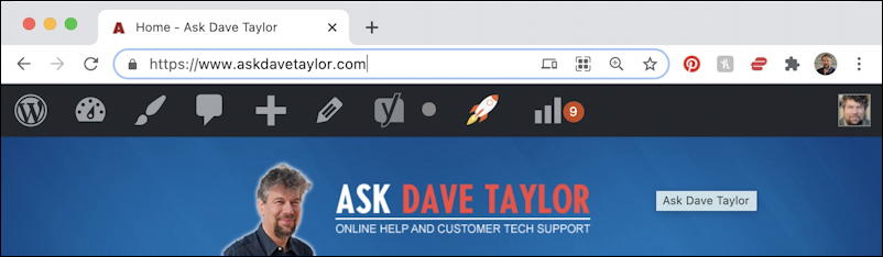 ask dave taylor google chrome qr scan code icon