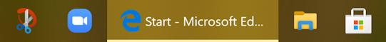 win10 old microsoft edge old icon taskbar