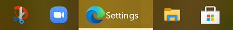 win10 new microsoft edge icon taskbar