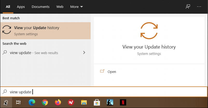 windows 10 taskbar search - uninstall