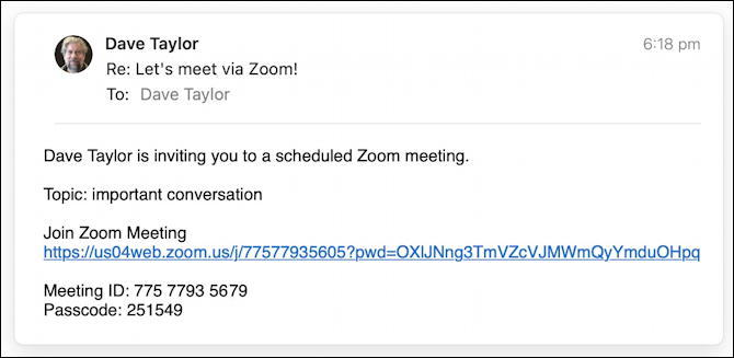zoom for gmail - invitation to join zoom meeting