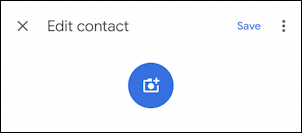 phone contact for hermione granger - android -update photo