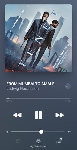 iphone itunes music create playlist - tenet soundtrack