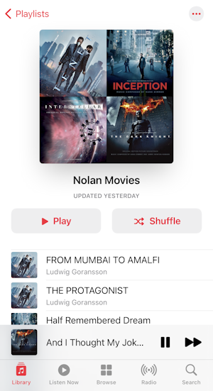 iphone itunes music create playlist - playlist montage