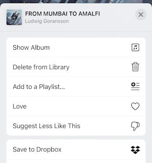 iphone itunes music create playlist - menu