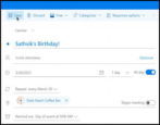 how to add create outlook calendar events recurring