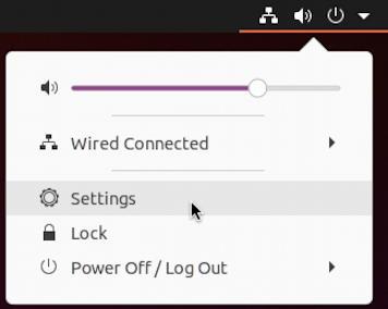 ubuntu linux - settings