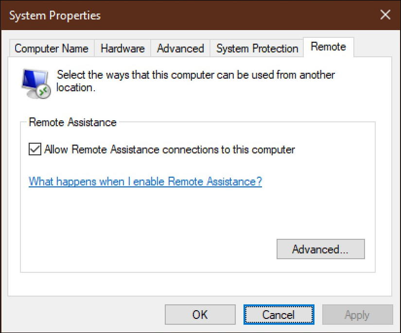 win10 disable quick remote assist assistant windows win10