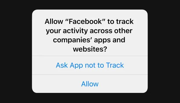 allow facebook tracking iphone ios 14.5