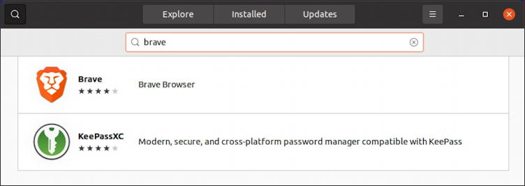 install brave web browser ubuntu linux how to - search for brave