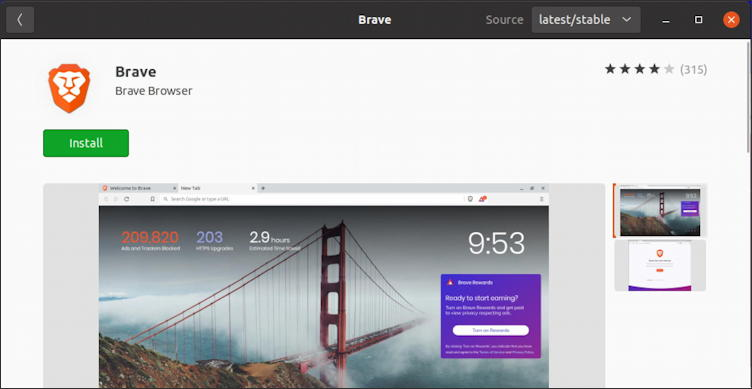 install brave web browser ubuntu linux how to - install