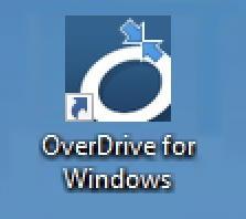 overdrive for windows desktop shortcut