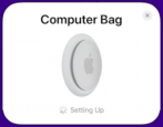 apple airtags how to set up find my