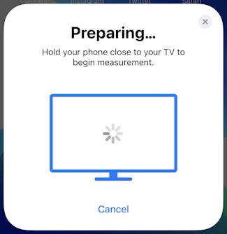 iphone ios appletv color balance calibration - preparing