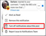 manage control facebook notifications how to