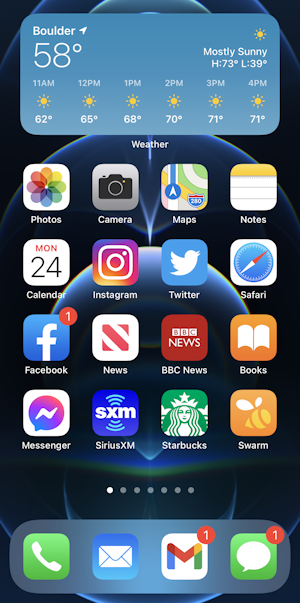 iphone 12 ios14.5 - new home screen wallpaper background image