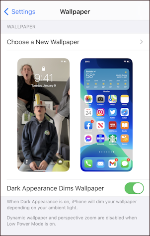 iphone 12 ios14.5 - default current wallpapers lock home