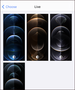 iphone 12 ios14.5 - live wallpapers