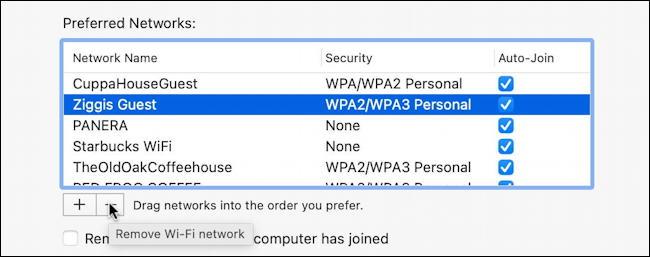 macos mac system preferences network wifi advanced