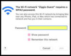 mac wifi network password - how to forget reset wireless