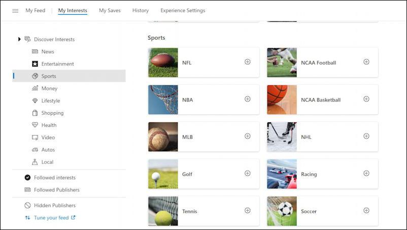 win10 taskbar - weather widget - sports news