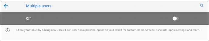 android add new user - enable multiple users