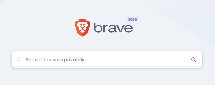 brave search box - beta