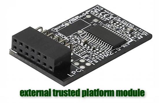trusted platform module tpm external chip circuit example