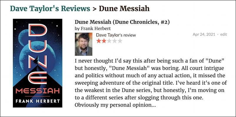 goodreads remove duplicates - my review of dune messiah frank herbert