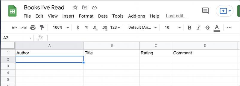 google sheets spreadsheet formatting 101 basics - rudimentary