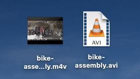 mac macos - convert avi to mp4 m4v - converted to mv4