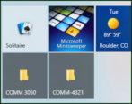 windows 10 win10 pc - add folders tiles start menu