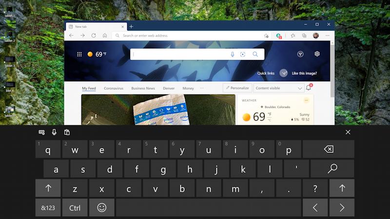 win10 tablet mode - full screen app on-screen keyboard