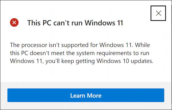 win11 pc health check app - windows 11 compatible? dell 2-in-1 can't run win11