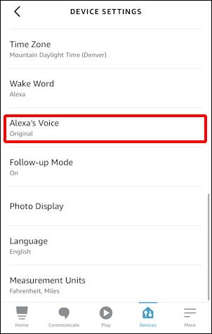 """amazon alexa echo - change voice - """"alexa's voice"""""""