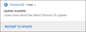 chromeos chromebook update available now