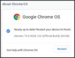 force update chromeos chrome os chromebook how to