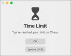 macos - set up screen time app time limits games - imac macbook