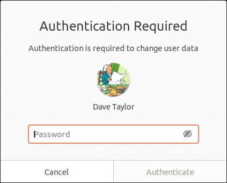ubuntu linux - remove disable user account - authenticate