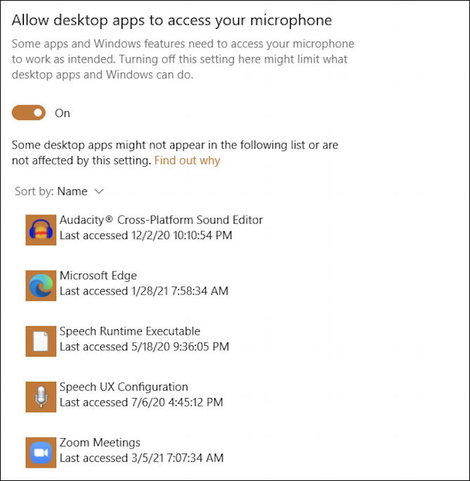 window 10 pc apps programs access webcam microphone mic 2
