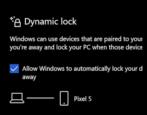 windows dynamic bluetooth device lock set up security