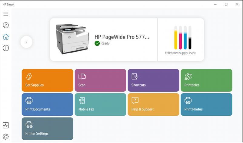 hp print management app - windows win10