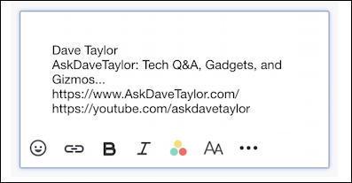 yahoo mail email - basic text signature