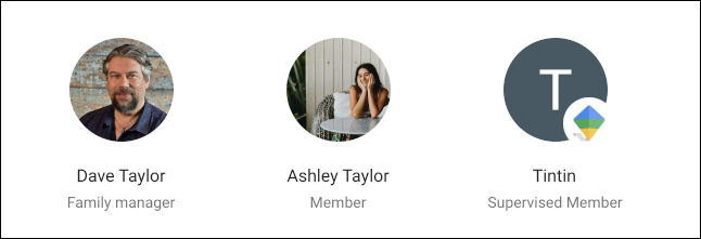 family member accepted google one family account invitation added