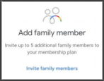 google one - how to add family member account