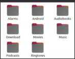 access android file system folders photos from ubuntu linux - how to fix configure