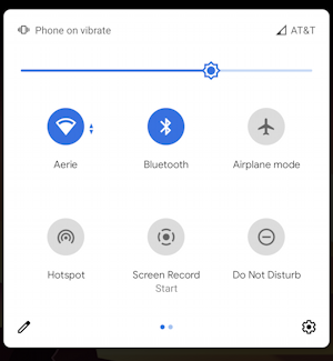 android wifi hotspot - enable - shortcuts