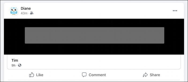 facebook potentially offensive post