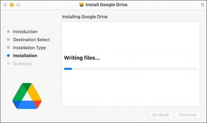 google drive for desktop - mac macos - writing files